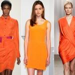 Одежда оранжевого цвета