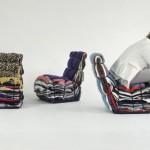 Дизайнерские кресла из старой одежды