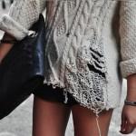 Рваная одежда