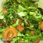 Салат с ростками