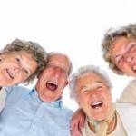 Хорошее настроение пожилых людей